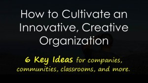 Cultivating Creative Groups